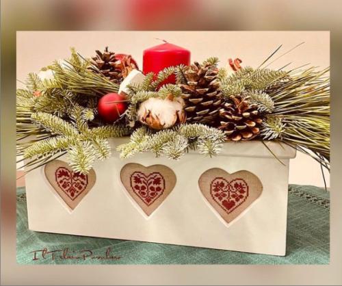 I cuori di #RenatoParolin vanno benissimo anche per un addobbo di #Natale