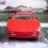FASCICULE N°25 LAMBORGHINI DIABLO UNIVERSAL HOBBIES 1/43 - car-collector