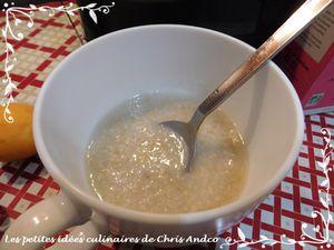 Porridge super onctueux à l'abricot