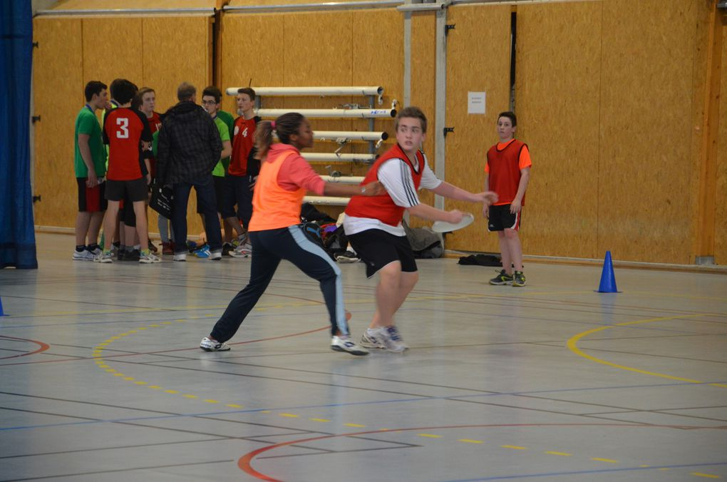 CHAMPIONNAT DEPARTEMENTAL ULTIMATE INDOOR 2014/2015