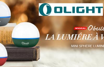 Test du Olight Obulb, lampe LED compacte sans fil
