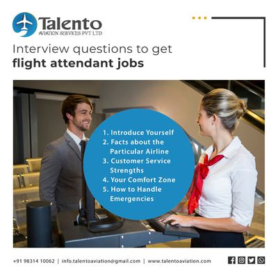 Interview questions to get flight attendant jobs in Kolkata