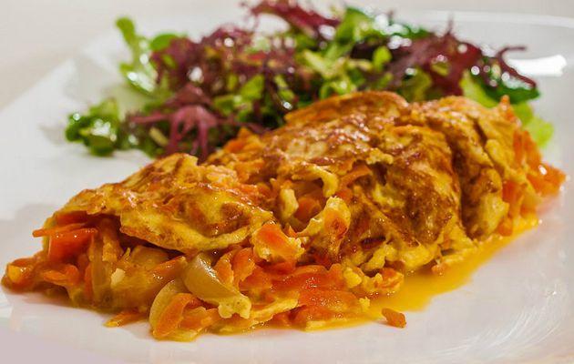 Omelette Sri Lankaise