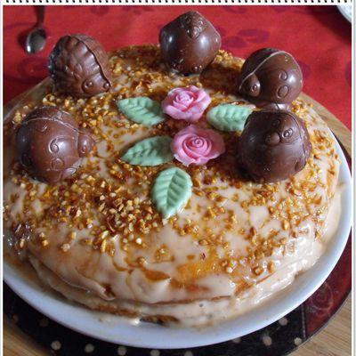 Notre gâteau de pâques