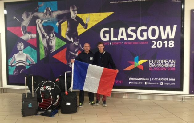 CHAMPIONNAT D'EUROPE TRIATHLON (DISTANCE S) A GLASGOW