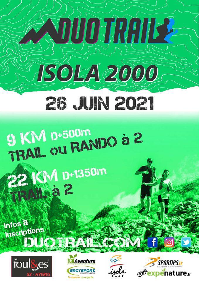 ISOLA 2000 - 2 TRAILS  : 26 Juin 2021