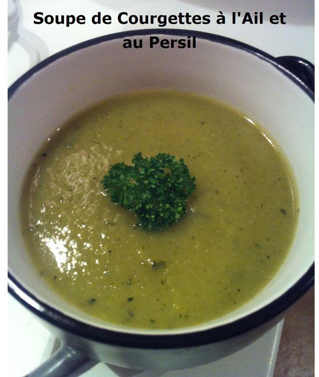 Soupe de Courgettes à l'Ail et au Persil (Cookeo ou pas)