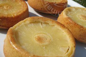 Minis Renversés à l'Ananas