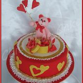 Tutoriel gâteau de la Saint-Valentin... - Mes gâteaux rigolos by Cécile CC
