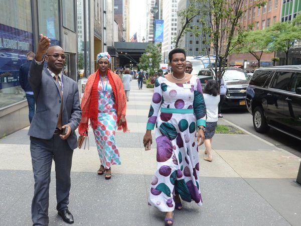 La Première Dame est à New York pour l'AG de l'Organisation des Premières Dames d'Afrique contre le VIH/SIDA