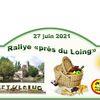 """RALLYE d'été """"PRES DU LOING"""" 27 Juin"""