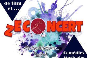 Le groupe Rock'ail de la section Les Musicales participe au ZECONCERT de Mions.