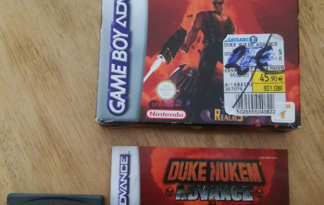 Retro Test 2 : Duke Nukem Advance