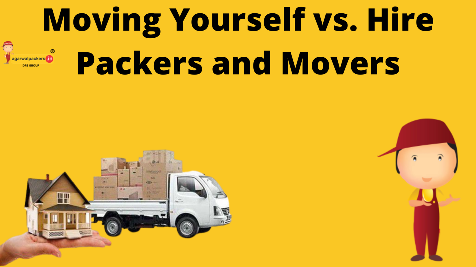 Moving Yourself vs. Hire Packers and Movers