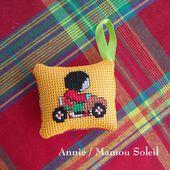 Le petit porte-clefs demandé par Annie / Mamou Soleil - Chez Mamigoz