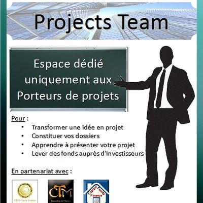 PROJECTS TEAM : Entreprendre
