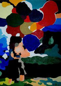 LouLou - acrylique sur toile -
