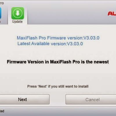 How to Update Firmware For Autel MaxiFlash Pro J2534 ?