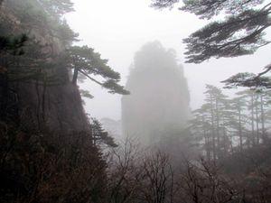 La ville de Tunxi et la montagne jaune