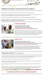 Newsletter 2 : BENIN : 2 voyages ouverts aux...