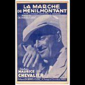Maurice Chevalier - La marche de Ménilmontant (1942)