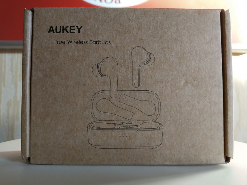 unboxing des écouteurs True Wireless Bluetooth 5.0 - Aukey EP-T21S @ Tests et Bons Plans