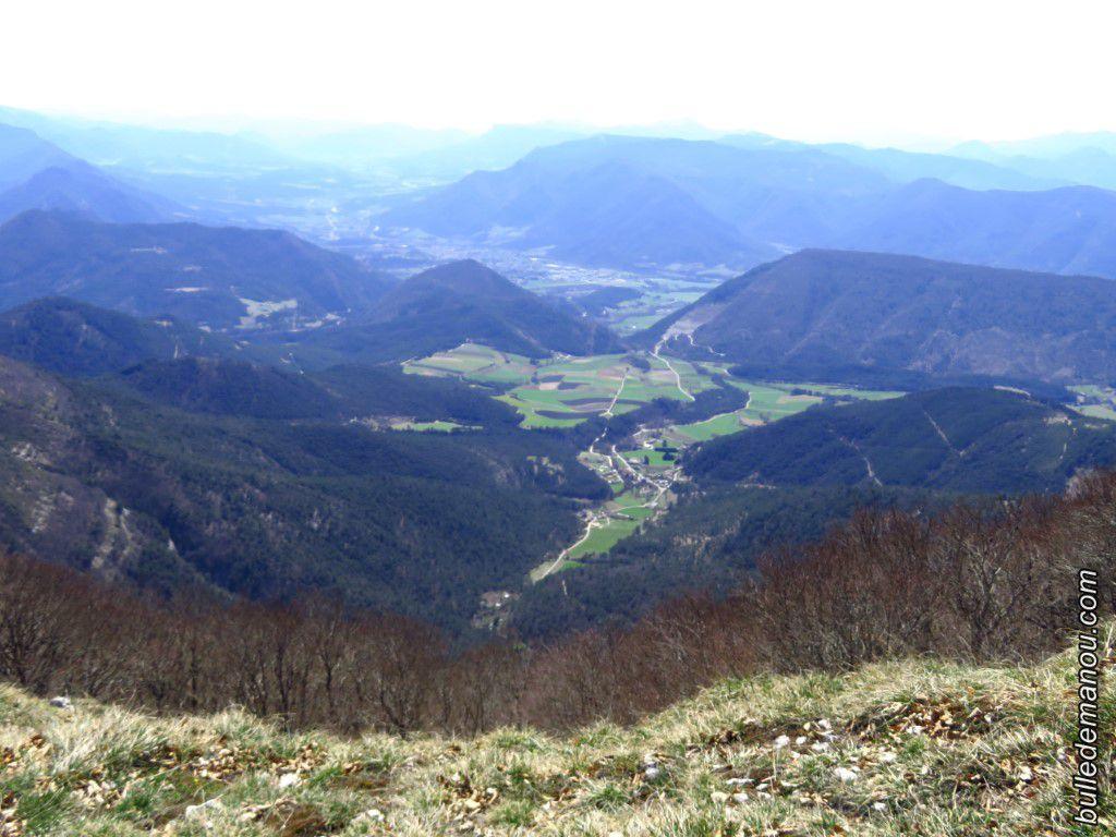 Vers la vallée de la Drôme et Die