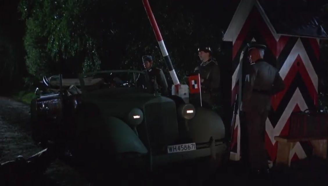 Wladislaw kills three german soldiers in car while Reisman whatches. Why didn't he bring a silencer ?