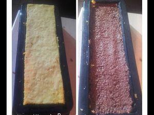 Bûche caramel au beurre salé et vanille au thermomix ou sans