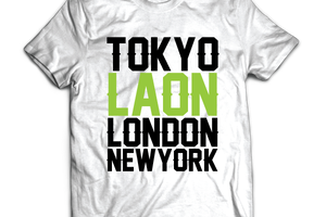T-shirt: France - Picardie - Laon.