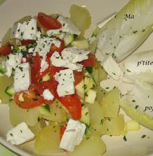 Salade chaude/froide