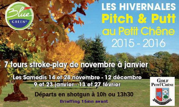 """Samedi 09 janvier, suite des """"Hivernales du Pitch & Putt"""""""