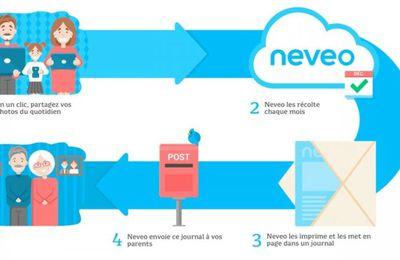 Neveo : journal familial pour nos ainés, mon test et avis