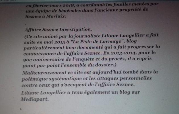 Affaire Seznec : Cher Maître Denis Langlois