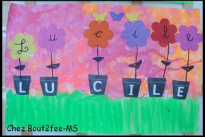 Fleurs de lettres