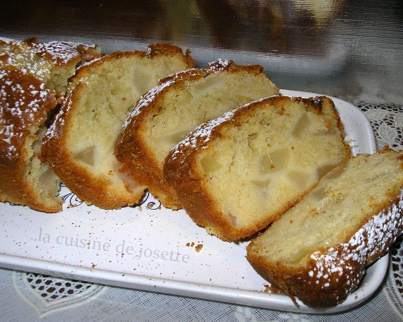 cake aux pommes et poires