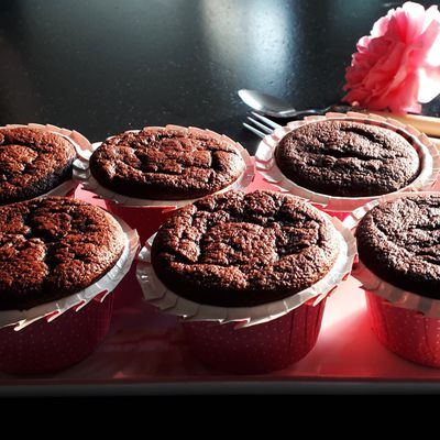 Cakes choco-courgettes