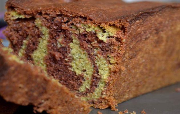 Marbré Choco-pistache
