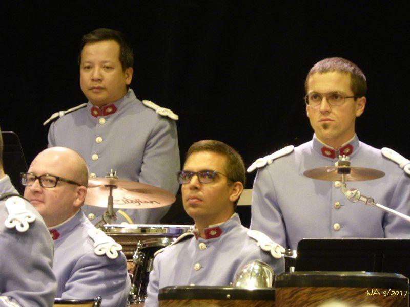 Concert par la Musique Militaire de Metz au Parc Expo à Colmar