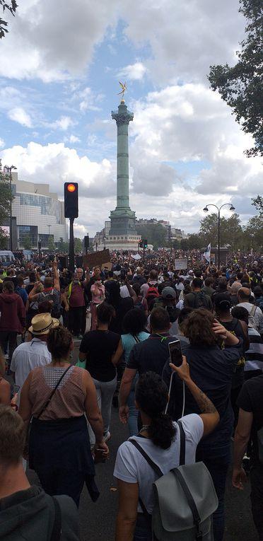 Manifestation Samedi 31 juillet 2021 à PARIS