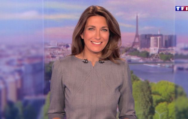 📸35 ANNE-CLAIRE COUDRAY @ACCoudray @TF1 @TF1LeJT pour LE 13H WEEK-END #vuesalatele