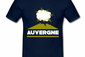 T-Shirt Auvergne volcan BM