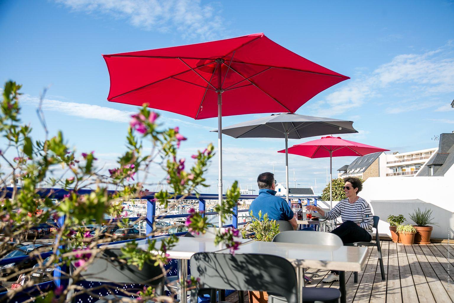 25 mai - Reportage photo Hôtel port Haliguen pour leur site internet