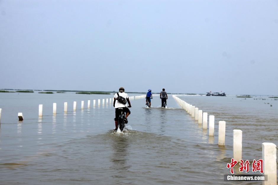L'autoroute aquatique du Lac Poyang