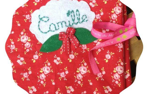 Un protège carnet de santé pour Camille