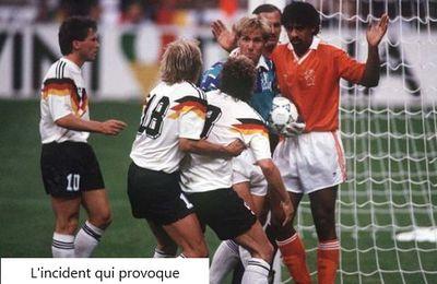 Coupe du Monde 1990 en Italie, Huitièmes de finale: Allemagne de l'ouest - Pays-Bas