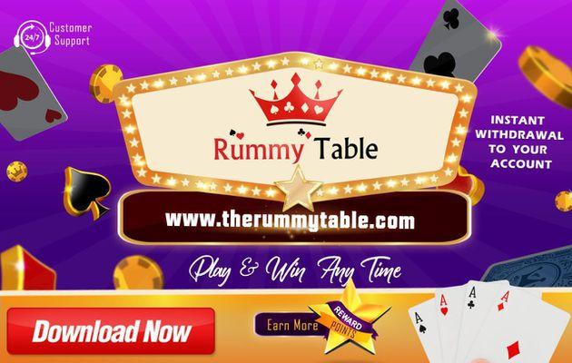 Top Online Play Rummy at The Rummy Table