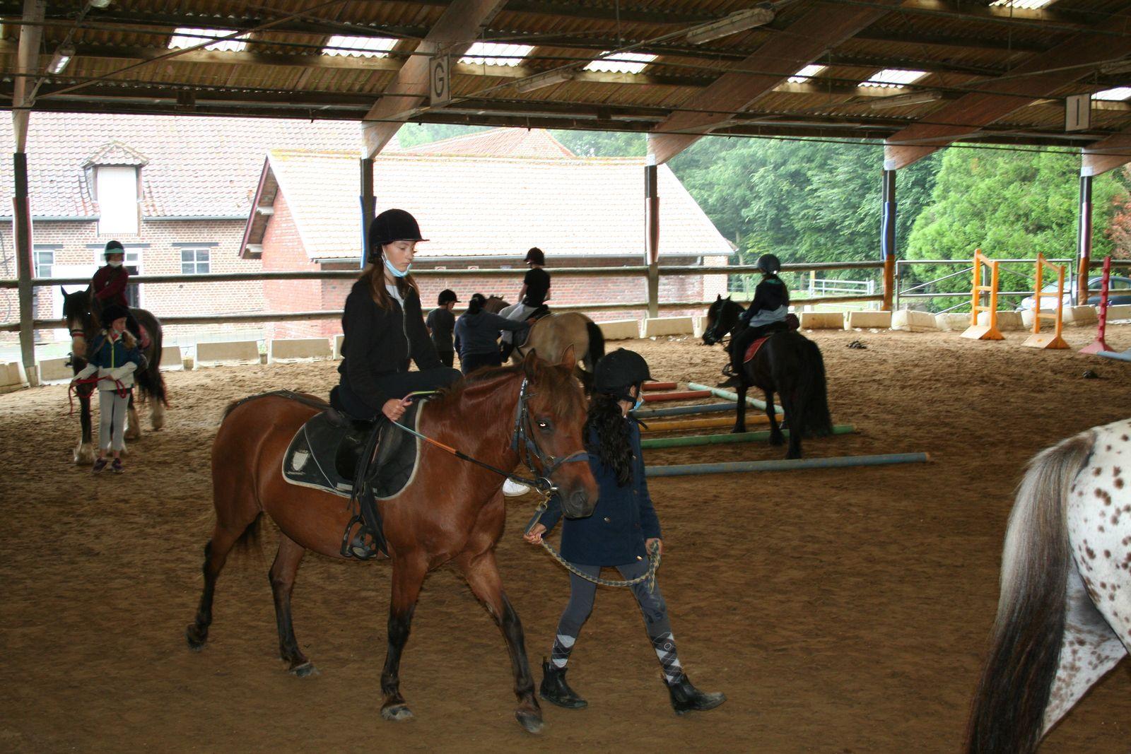 Stage équitation-Du 26 au 30 juillet