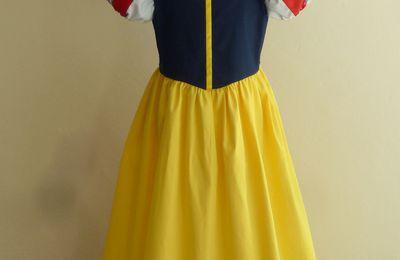déguisement robe de Blanche neige