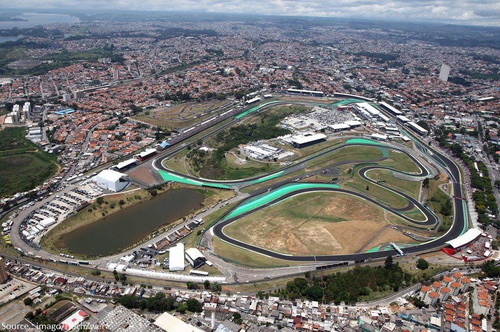 C'est bien à Sao Paulo que va se rendre le paddock